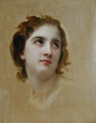 Portrait by Willam-Adolphe Bouguereau