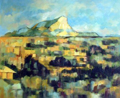 Cezanne Landscape